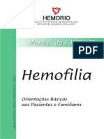 Hemofilia - Como cuidar