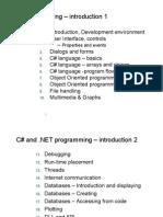 C# Programming