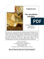 Eco, Umberto - Vier Moralische Schriften