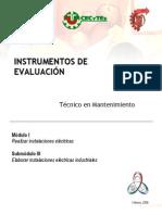 Instrumentos m1 s3 Mantenimiento Cecytea