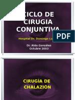 CICLO DE CIRUGIA. CONJUNTIVA.ppt