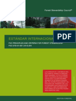 Estándar Internacional Consejo Forestal Mundial (SFC)