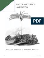 Humboldt y La Botanica Americana