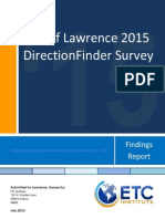 Lawrence Citizen Survey 2015
