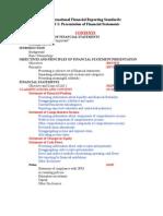 2 Presentation of FS Under IFRS