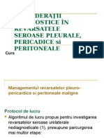 CDG Algoritm de Dgn in Revarsate Seroase Pleuro-pericardice