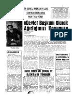 Emek Dergisi -Ek - Emek Haftalik - 7
