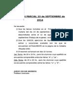 Aviso Parcial 23 de Septiembre de 2014.1