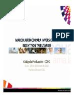 Presentacion de Incentivos Del COPCI