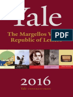 The Margellos World Republic of Letters 2016 Catalog