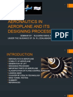 Aeronautics in Aeroplane and Its Designing Processes