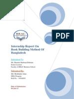 Internship Report on Book Building Mathod