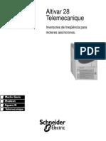 Manual Inversor schineider ATV28
