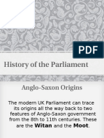 History of the Parliament