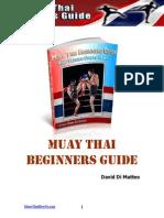 Muay Thai Beginners Guide