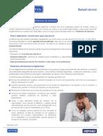 Salud Laboral - Estrés y Síndrome Burnout - Higienistas VITIS