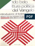Fernando Belo - Una lettura politica del Vangelo
