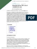 Gleducar - GleduWiki » La incorporación de las TICs en el aula - Un estudio de caso.pdf