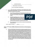 Illiana Proposed Tax Break