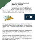 Préstamos Personales Toreno Rápidos Online. Mini Créditos Dinero Urgente En 10 Minutos