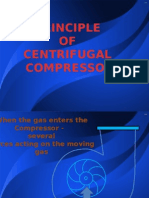 PRINCIPLE OF CENTRIFUGAL  COMPRESSOR