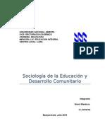 El Desarrollo Comunitario Idania