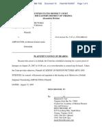 Academy of Motion Pictures Arts and Sciences v. Ampas.com - Document No. 15