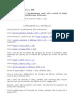 D.P.R. 7 settembre 2001, n. 398