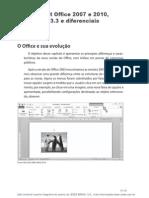 Microsoft Office 2007_2010 e BrOffice