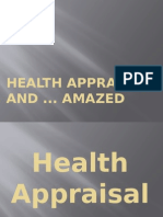 Health Appraised And