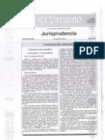 Jurisprudencia del Consejo de Minería