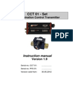 Instruction Manual - Eaton Internormen CCT 01 Set - Contamination Control Transmitter, e, 1.9 (Data Manager 2) (1)