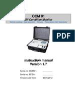 Instruction Manual OCM 01, E-US, V 1.7