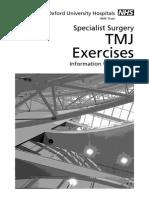 TMJ exercises