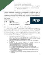1st Counseling Notice & Merit List 2015-16 (1)