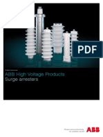 ABB Surge Arresters - Product Overview 1HC0075750 AD En