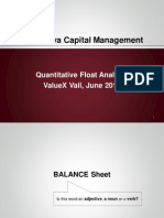 Rubalcava Capital - Quantitative Float Analysis
