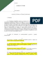 Acordão TC n.º 377/2015 (Enriquecimento Injustificado)