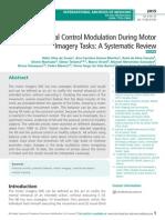 Postural Control Modulation During Motor Imagery Tasks