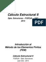 Teórico Método de Elementos Finitos