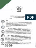 RD N° 002-2015-PNVR Aprobación de Guia de Ejecución y Liquidación de Proyectos del PNVR bajo la modalidad de N.E. y sus anexos