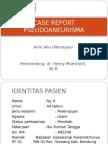 Case Report Pseudoaneurisma
