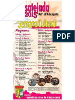 Cartel Semana Cultural 2015 Copy