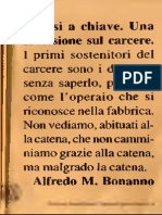 Alfredo Maria Bonanno - Chiusi a Chiave