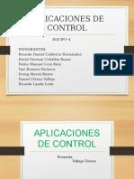 Aplicaciones de Control