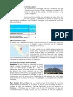 Actividades Primarias de Nuevo León