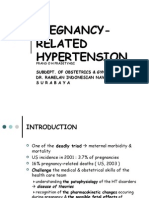Pregnancy Related Hypertension