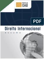 DIREITO INTERNACIONAL resumao 2015