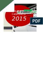 Agenda Calendario 2015