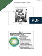 Tema 2. Estructura de Lípidos 2015